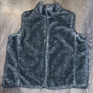 Reversible Guess fur vest